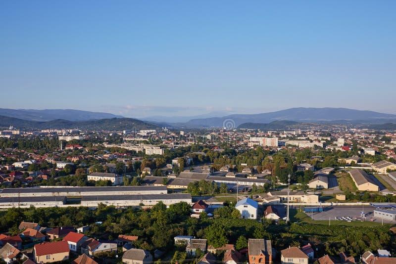 Ландшафт Mukachevo Oblast Zakarpatska стоковые изображения