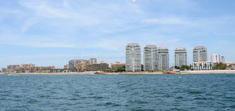 Ландшафт Puerto Vallarta стоковые изображения rf