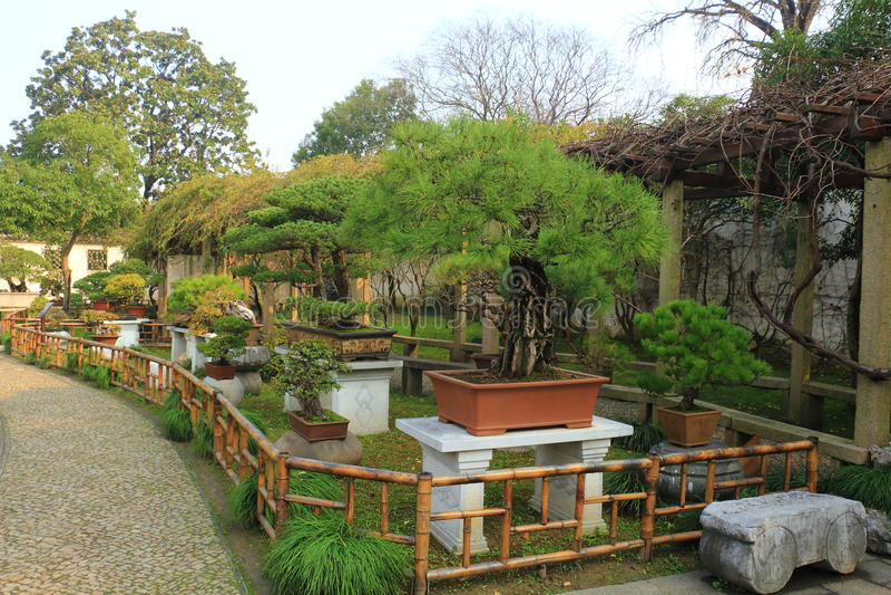 Ландшафт Rockery на liuyuan саде на осени стоковая фотография