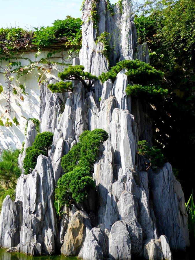 Ландшафт Rockery стоковые изображения