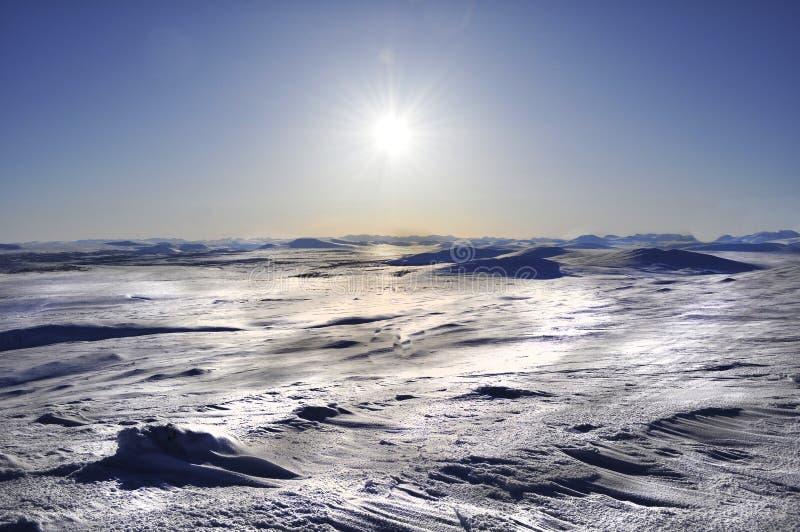 Лапландия северная Швеция стоковое фото