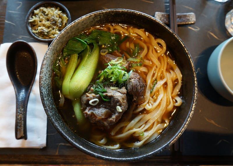 Лапша говядины Тайбэя стоковые фотографии rf