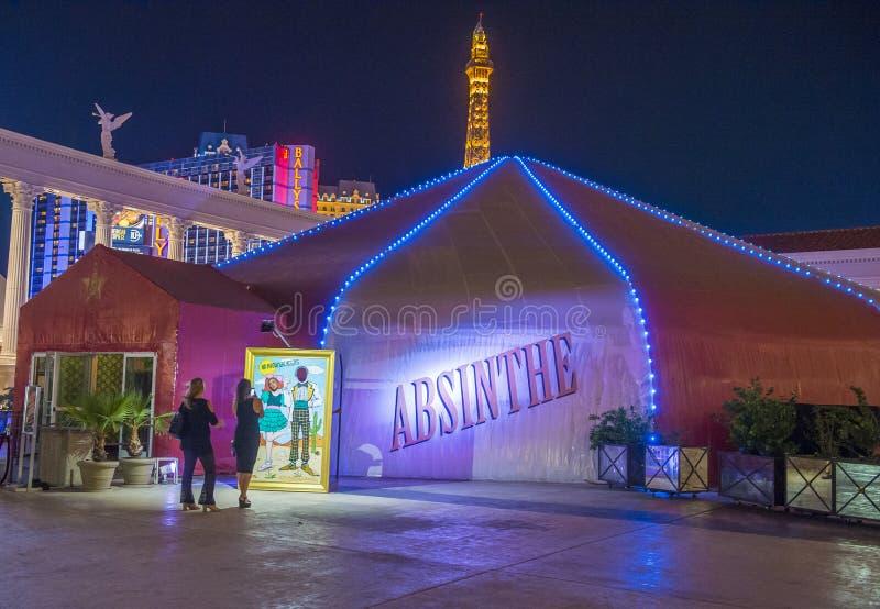 Лас-Вегас, абсент стоковое фото