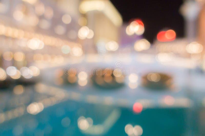 Лас-Вегас запачкал ночу предпосылки стоковые фото