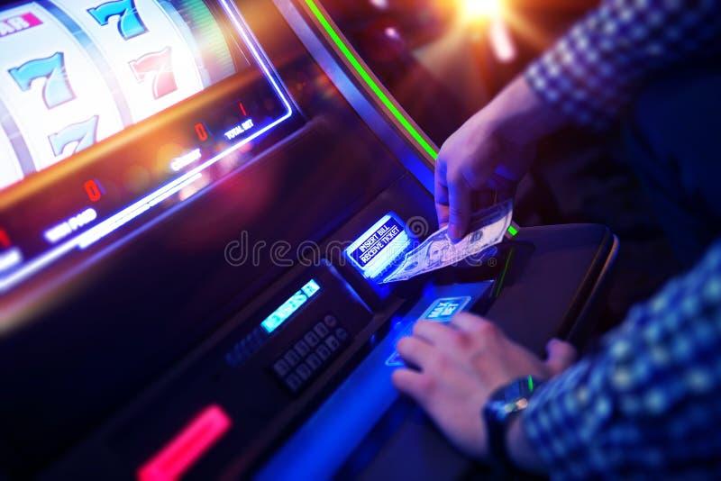Лас-Вегас играя в азартные игры стоковые фото