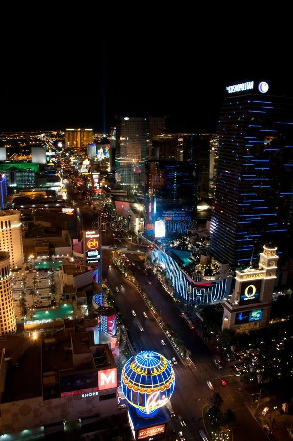 Лас-Вегас на ноче стоковая фотография