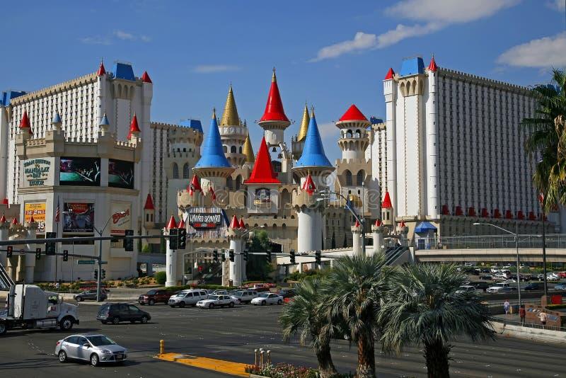 Лас-Вегас, Невада - 4-ое сентября 2012: Гостиница и Casin Excalibur стоковое фото