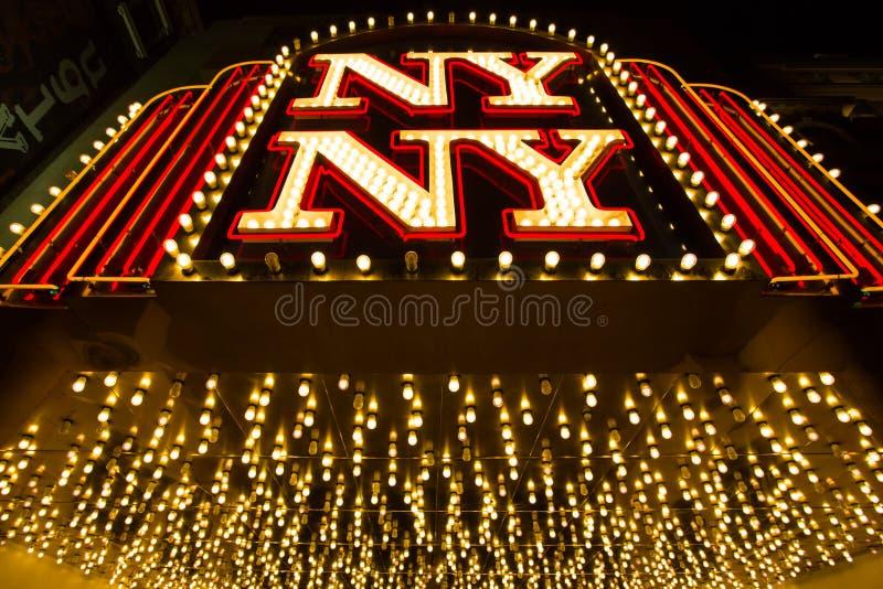 Лас-Вегас, Невада - 12-ое сентября 2012: Новая Йорк-новая гостиница Йорка стоковое изображение rf