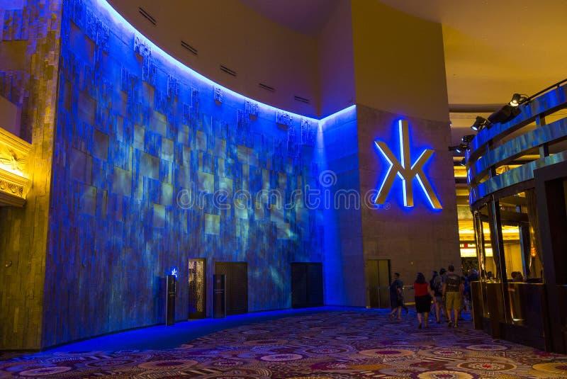 Лас-Вегас, ночной клуб Hakkasan стоковое фото rf