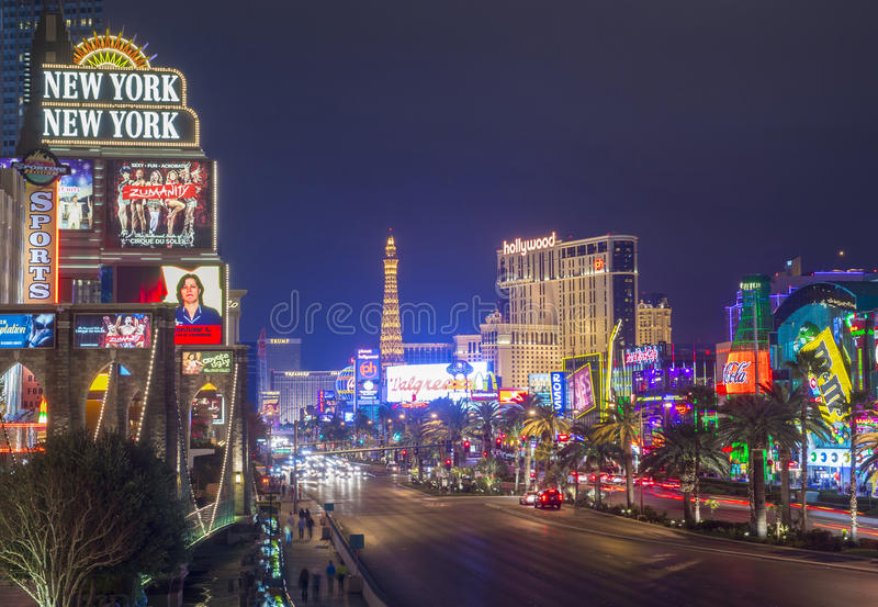 Download Лас-Вегас редакционное стоковое фото. изображение насчитывающей строя - 30065428