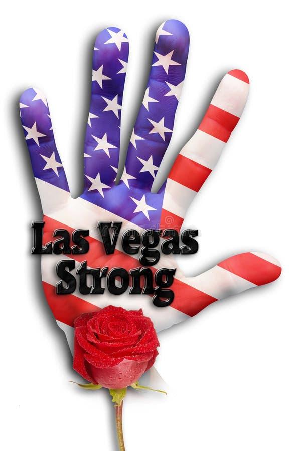 Лас-Вегас сильный стоковое изображение rf