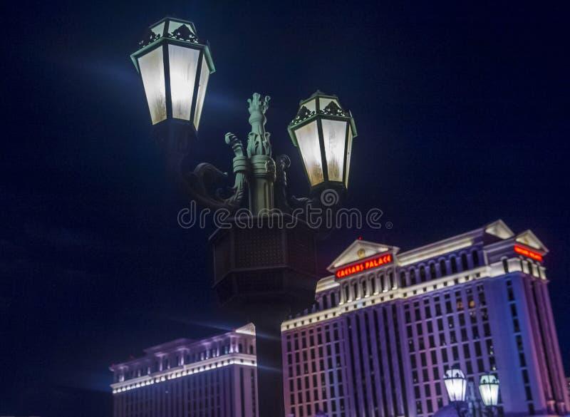 Лас-Вегас; Ceasers стоковое фото