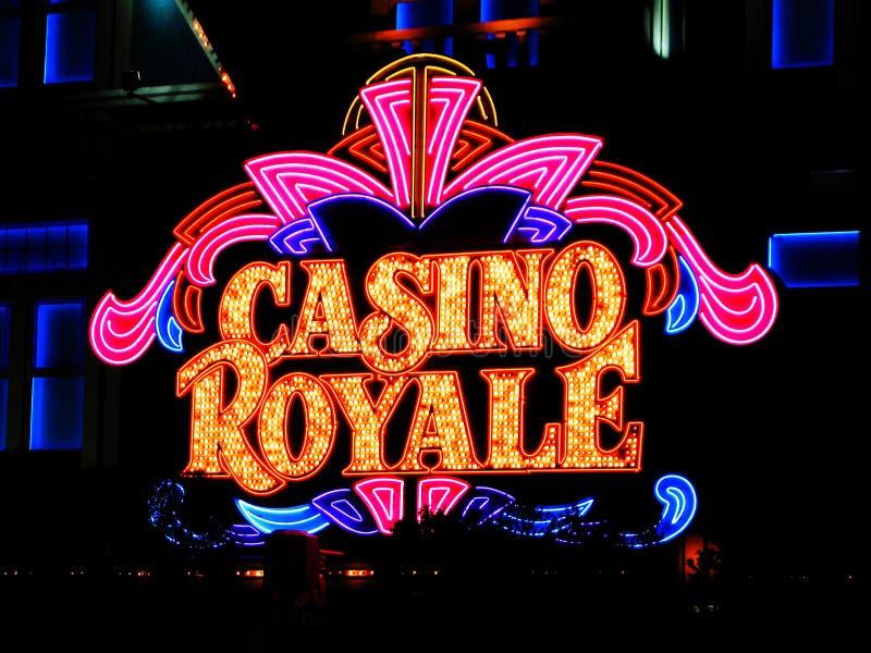 ЛАС-ВЕГАС NV - казино Royale гостиницы 5-ое июня 27-ого июня 2005 стоковая фотография