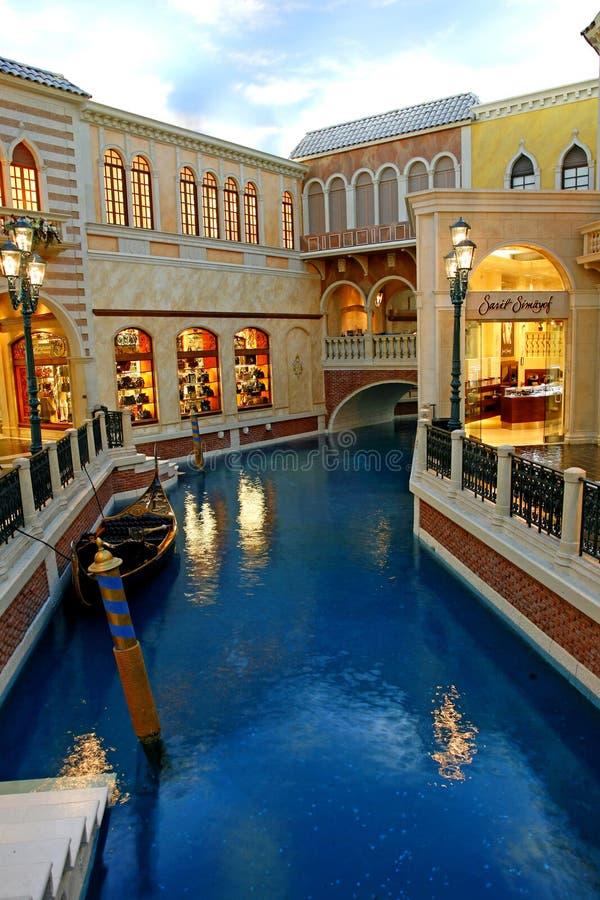 ЛАС-ВЕГАС - SEPT. 4: Венецианская гостиница курорта 4-ого сентября, стоковое фото