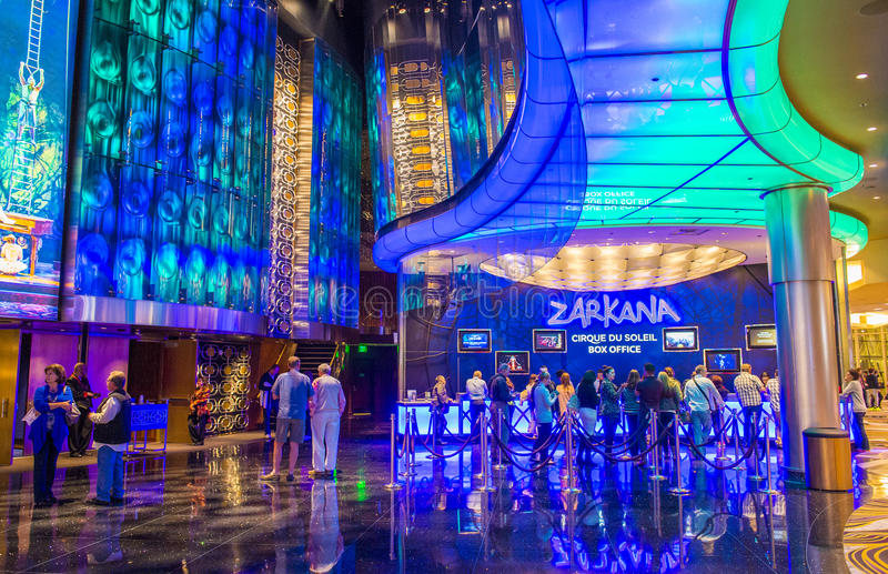 Лас-Вегас Zarkana стоковое изображение
