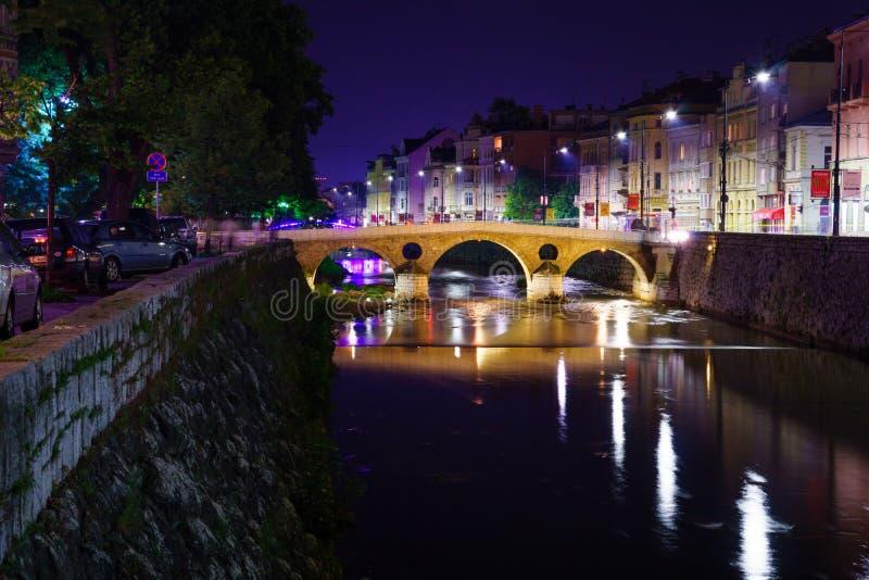 Латинский мост, Сараево стоковые изображения rf