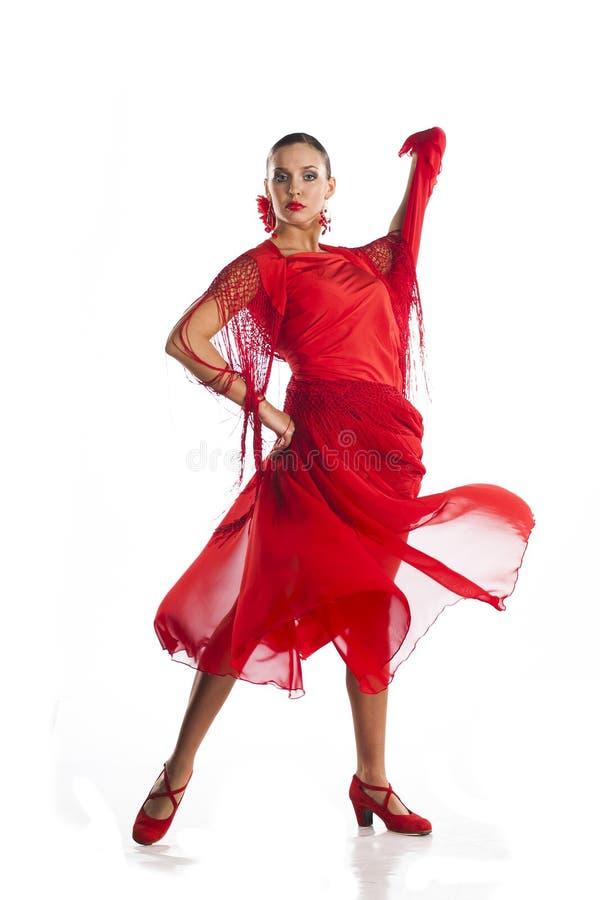 Латинский танцор сальсы стоковая фотография