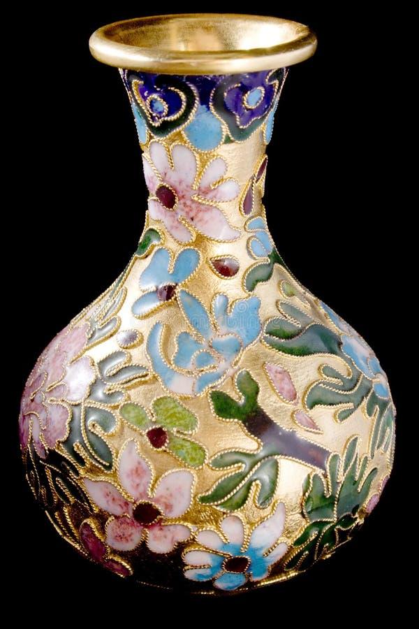 латунная ваза стоковое изображение