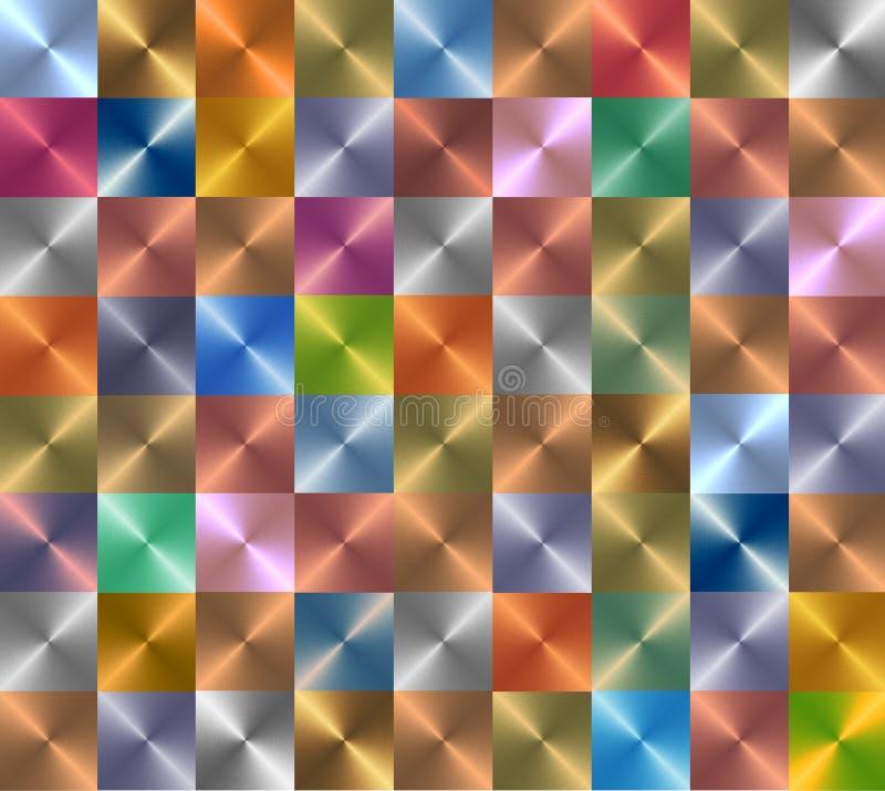Латунное абстрактное приглашение настольного компьютера обоев предпосылки иллюстрация штока