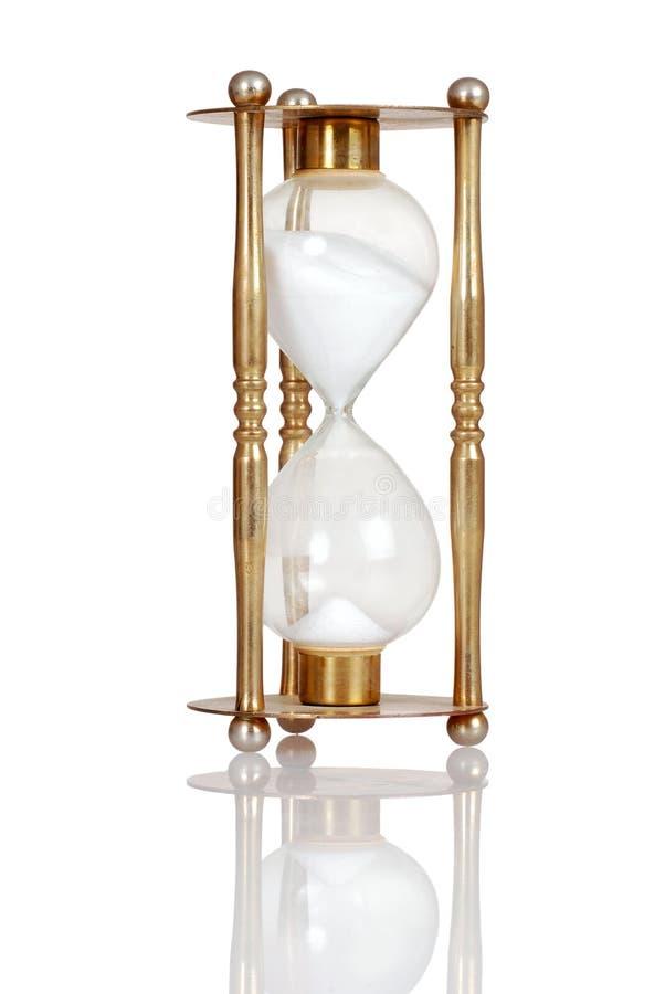 латунный hourglass старый стоковая фотография rf