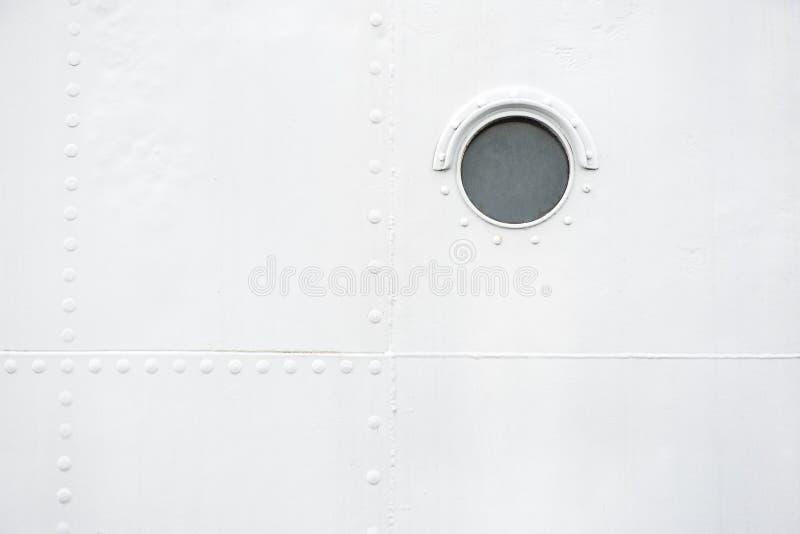латунный porthole стоковое фото