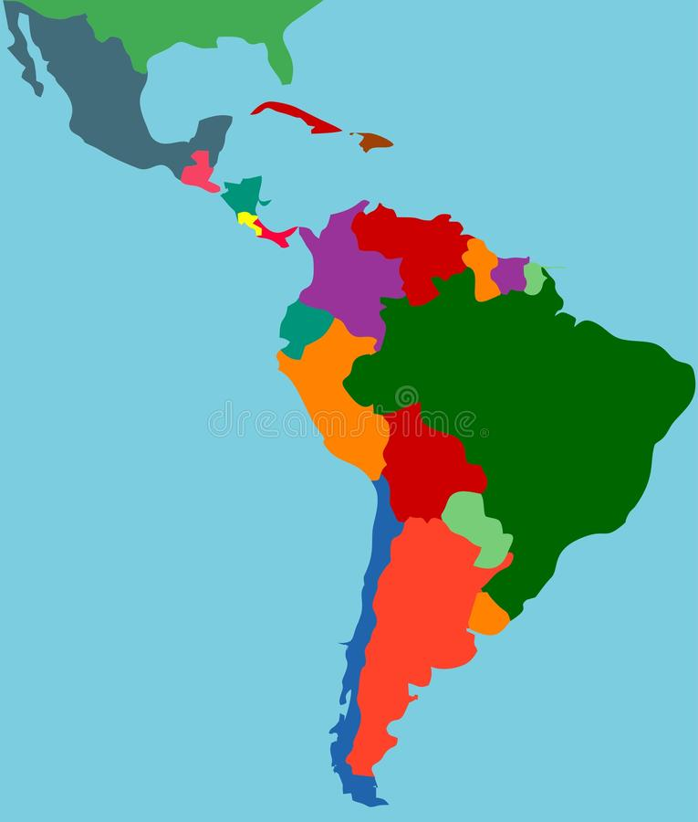 латынь америки бесплатная иллюстрация