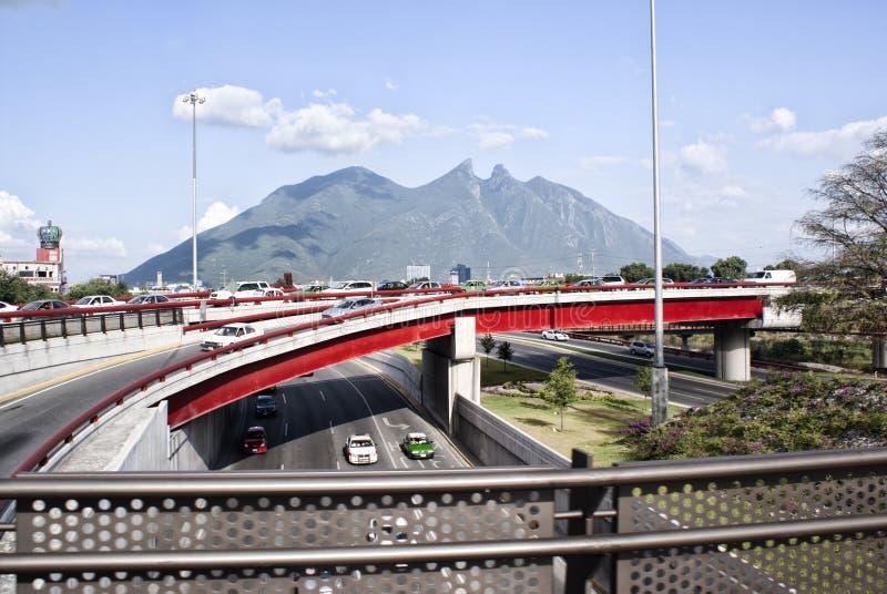Ла Силла Монтеррей Мексика Cerro de стоковая фотография