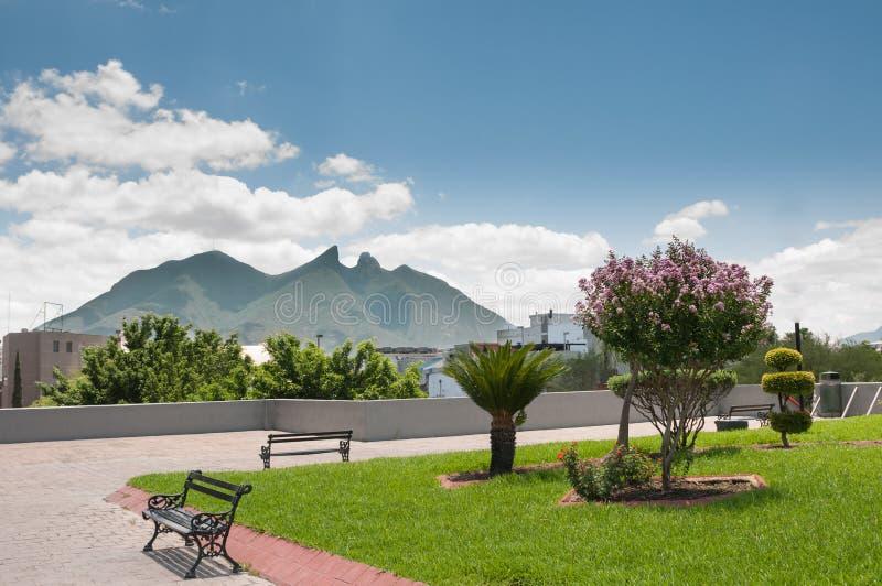Ла Силла - Монтеррей Cerro de стоковые изображения rf