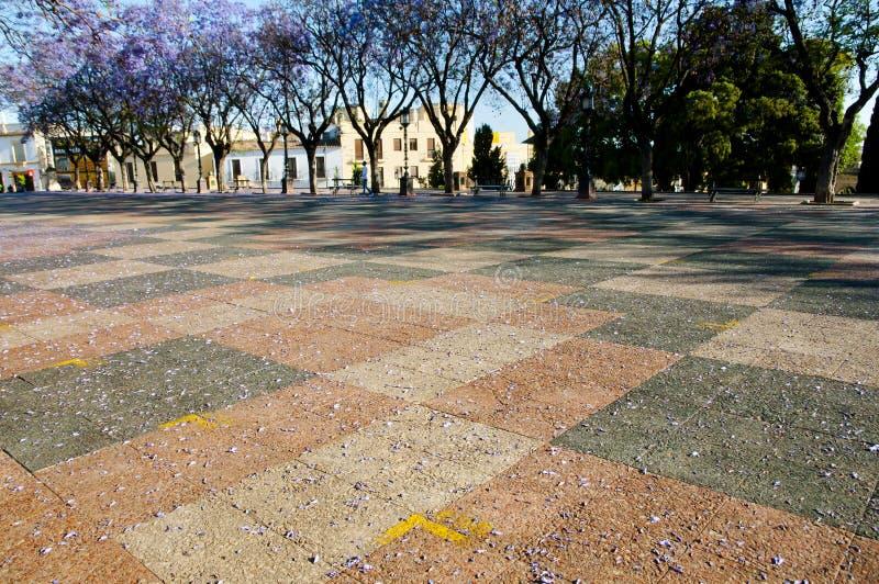 Ла Frontera - Испания Alameda Vieja - Jerez de стоковое фото rf