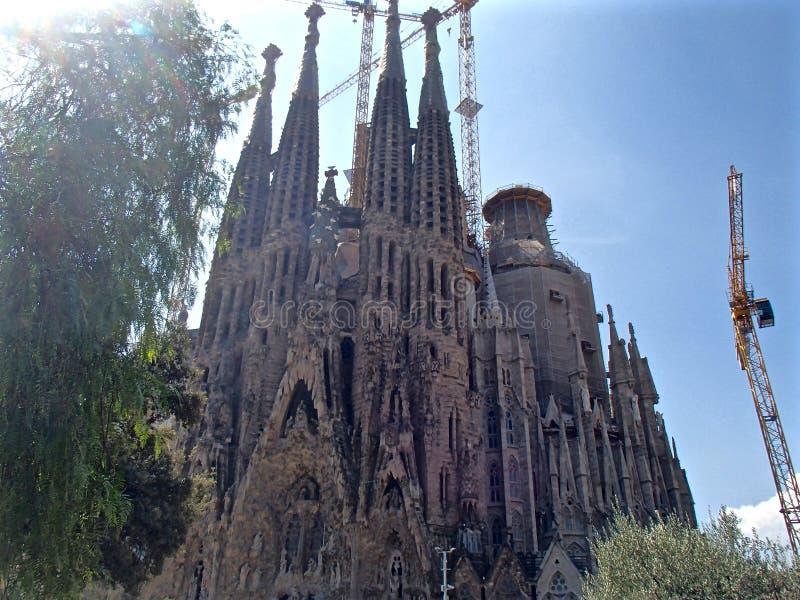 Ла Sagrada Familia 4 стоковое изображение rf