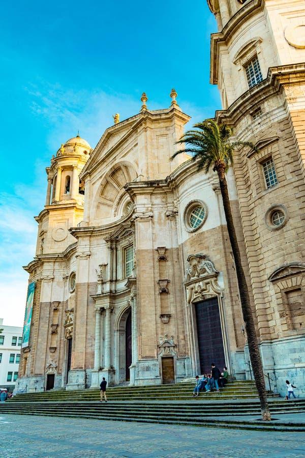Ла Santa Cruz Catedral de в diz ¡ CÃ стоковая фотография