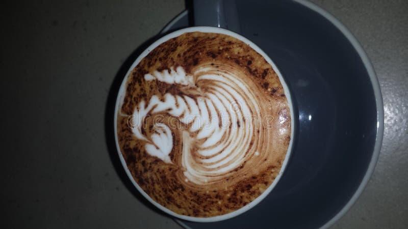 Лебедь кофе стоковая фотография rf