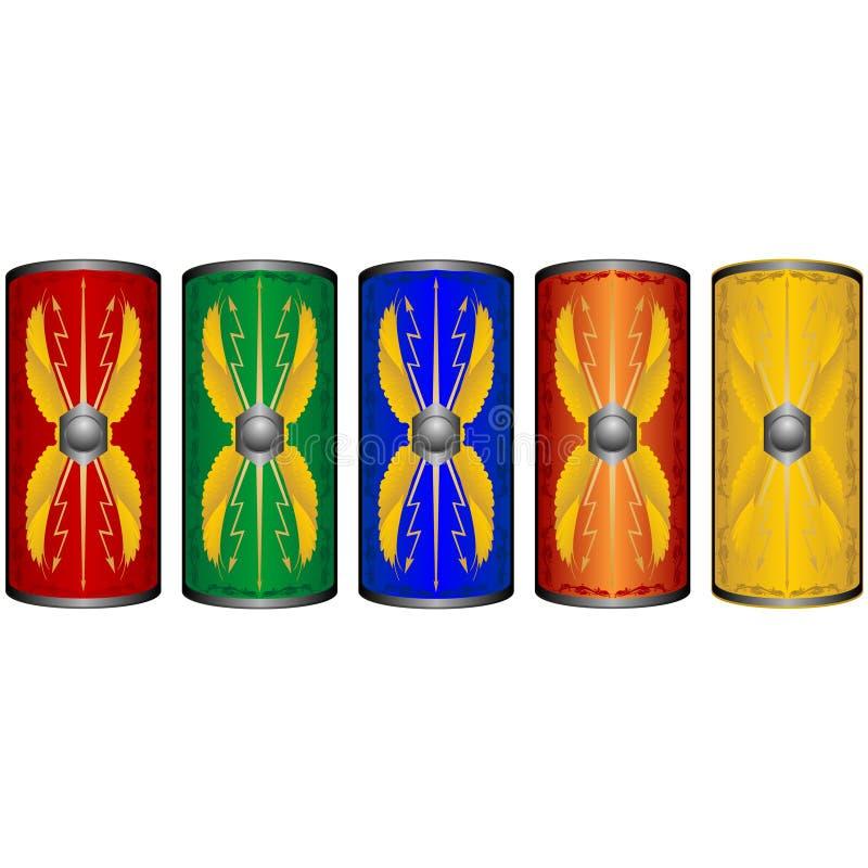 Легионеры экранов римские иллюстрация штока