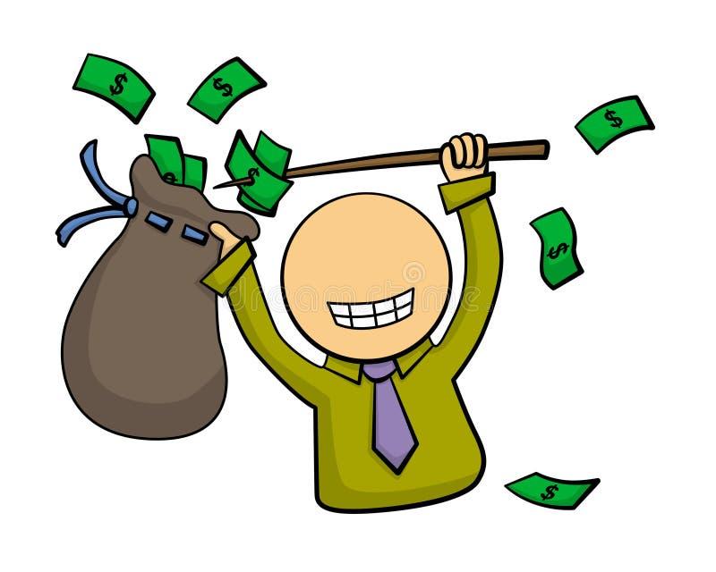 Легкие деньги бесплатная иллюстрация