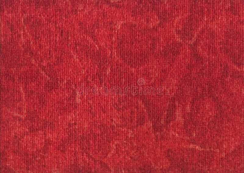 Легкий для того чтобы очистить текстуру красного ковра стоковое изображение rf