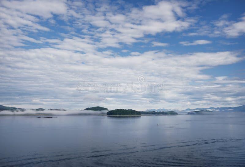 Ледистый пункт пролива, Hoonah, Аляска, США стоковые фотографии rf