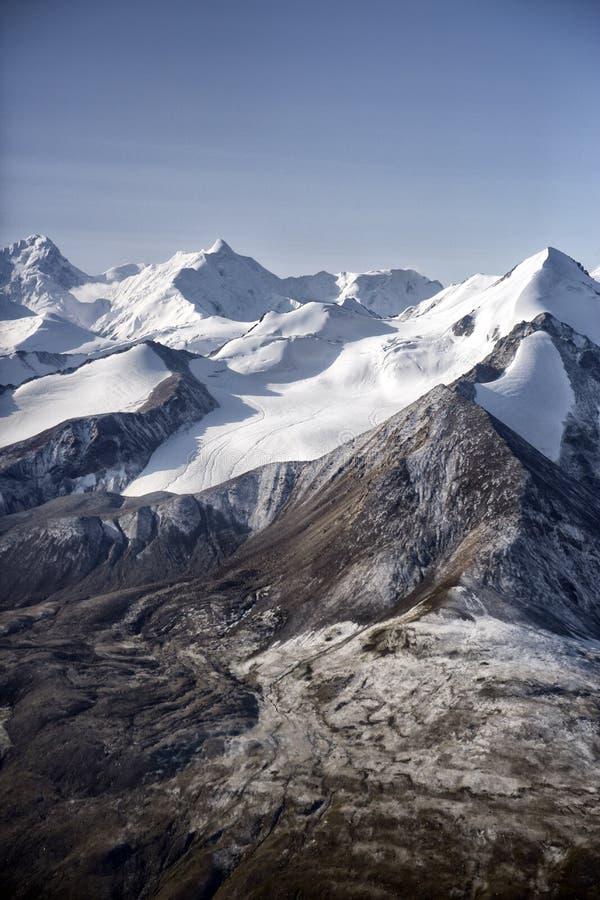 Ледники в горах стоковые изображения