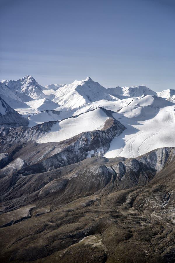 Ледники в горах стоковая фотография