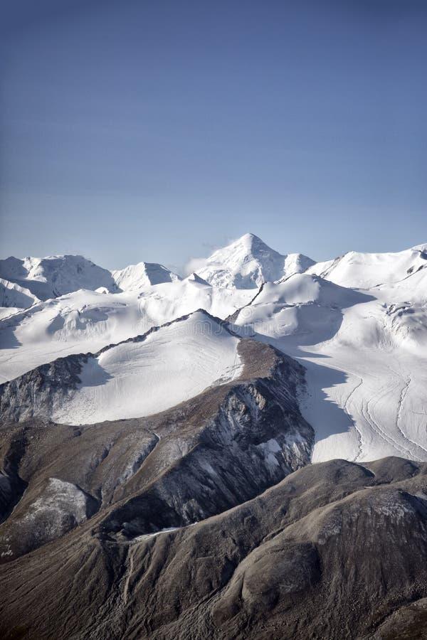 Ледники в горах стоковая фотография rf