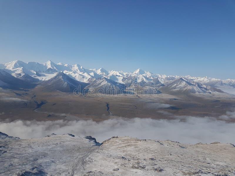 Ледники в горах стоковые фотографии rf