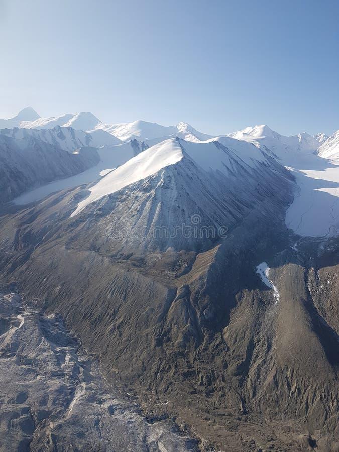 Ледники в горах стоковое фото rf