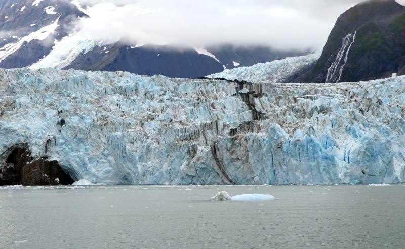 Ледники в национальном парке фьордов Kenai стоковая фотография
