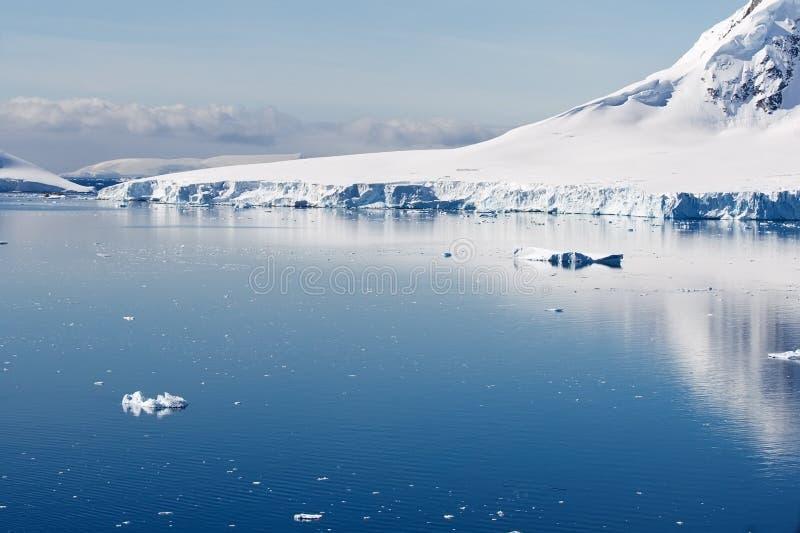 ледниковое тихое место стоковое фото
