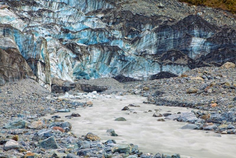 ледник лисицы стоковые фотографии rf