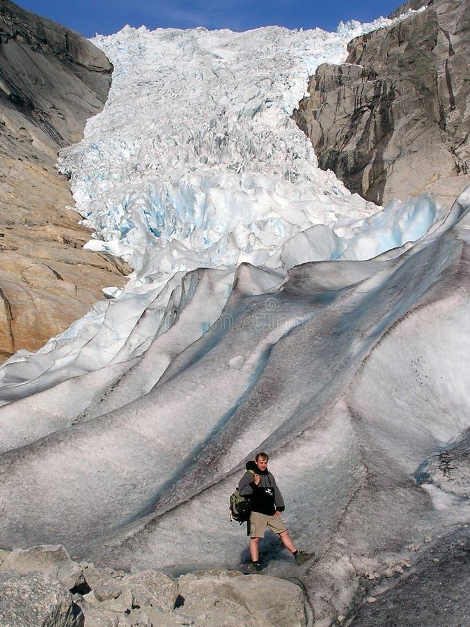 ледник Норвегия стоковые фотографии rf