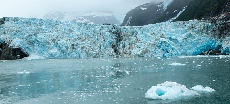 Ледник Harriman в Prince William Sound, Аляске, США стоковая фотография rf