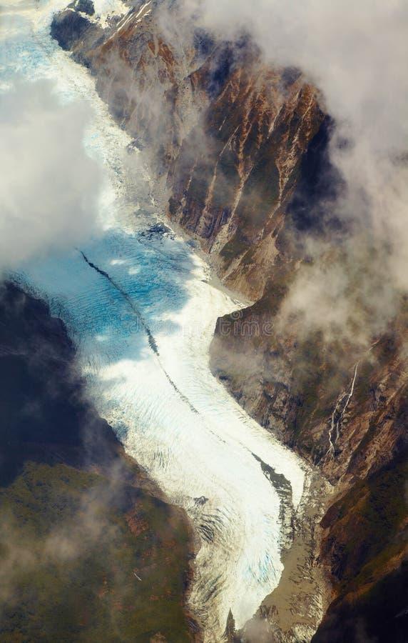 ледник josef Новая Зеландия franz стоковое фото rf