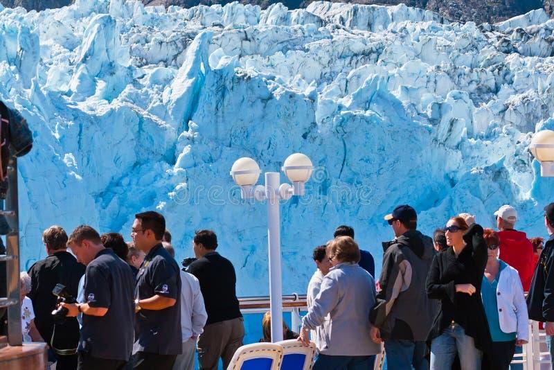 Ледник Margorie в Аляске стоковые фотографии rf