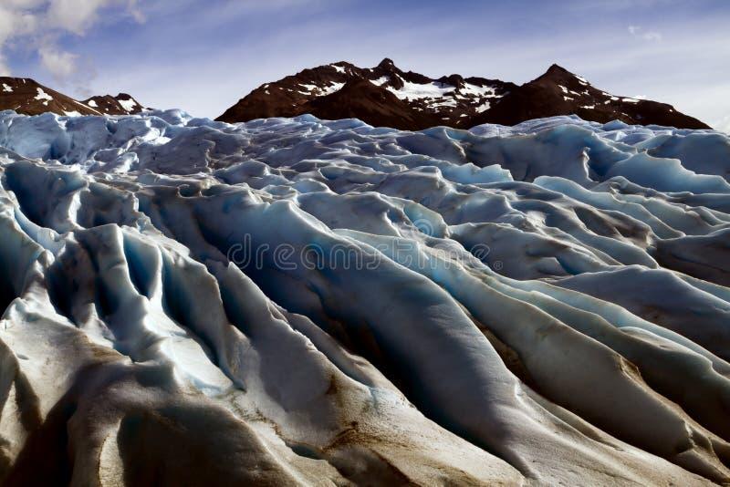 Ледник Perito Moreno, Патагония, Аргентина стоковые фотографии rf