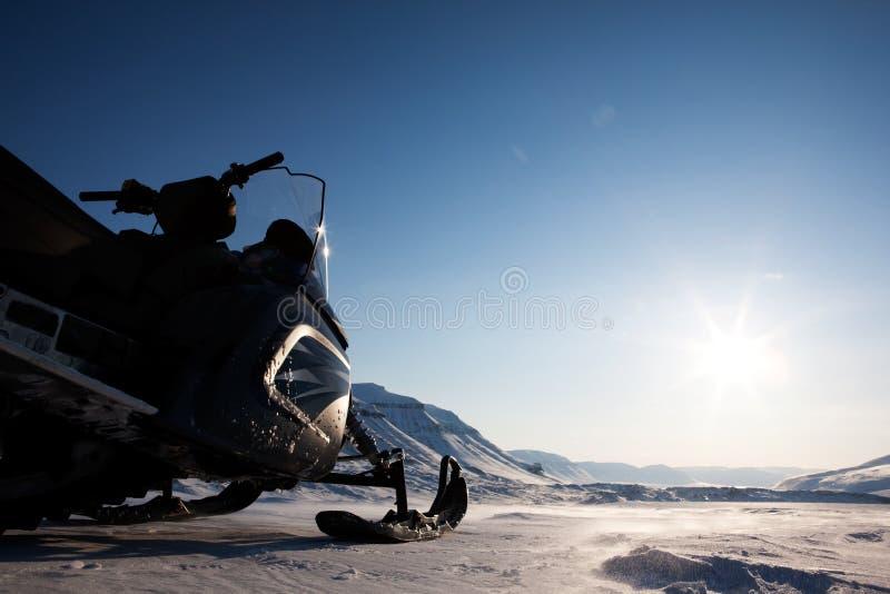 ледовитый ландшафт стоковое изображение rf